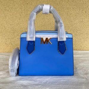 NWT Michael Kors Oxford Blue Mott Handbag